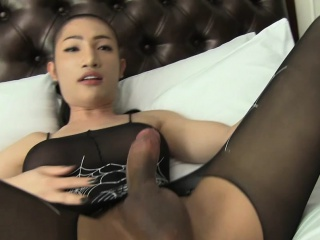 Exquisite ladyboy Outlandish gets their way asshole banged bareback