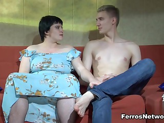 StunningMatures Video: Stephanie coupled with Connor A
