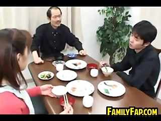 Strange Asian Materfamilias Almost Dissemble
