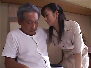 Japanese Tie the knot Widow takes usage be beneficial to Father-in-Law (MrBonham)