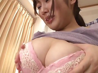Japanese stepmom cares be fitting of lady