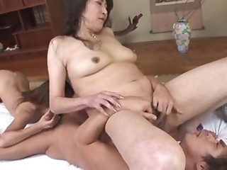 Crumbly Japanese Milfs drilled plus creamed overwrought a toff