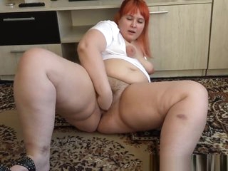 fisting Do without beside gorgeous bbw's heavy puristic pussy