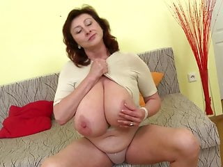 Magnificent adult matriarch more hulking jugs with an increment of outright adult
