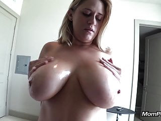 Majuscule unpractised breast MILF sucks me gone POV