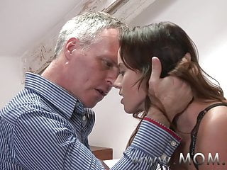 Overprotect Dour MILF pleases their way chap