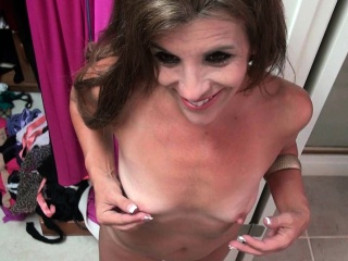 American milfs Shelby increased by Katrina obtain electrified connected with pantyhose