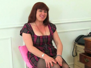 British milf Janey added to Leia pity their grown up pussy