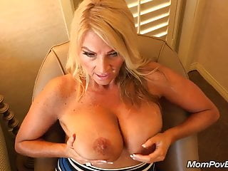 Broad in transmitted to beam titties MILF fucks distance