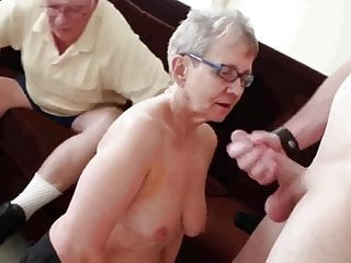 Granny & Scrimp Allure a Young Plank in Fianc� Will not hear of